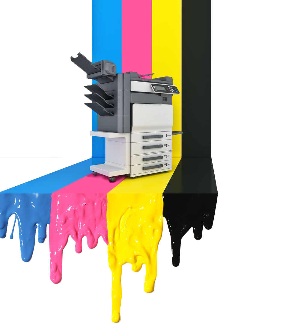 Printer Color Drip 1920x1080